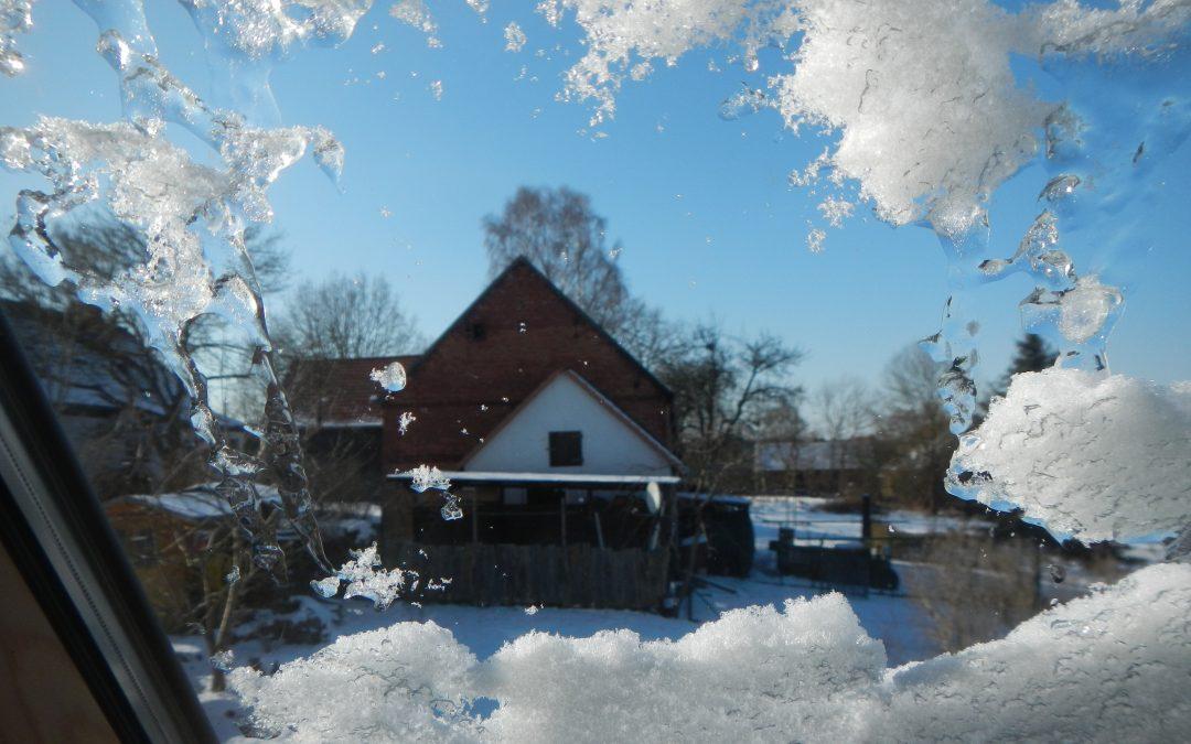 Der Winter zeigt sich
